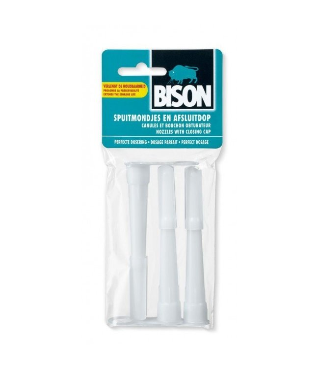 Bison kit Spuitmondjes (3st)