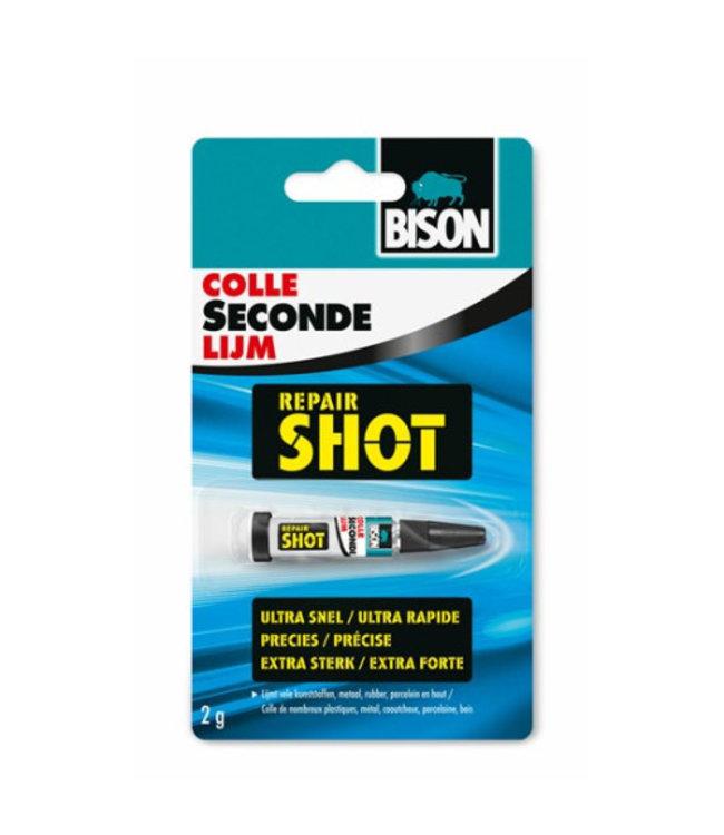 Bison Secondelijm Repair Shot 2g