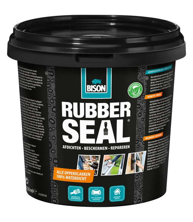 Bison Rubber Seal Pot 750ml