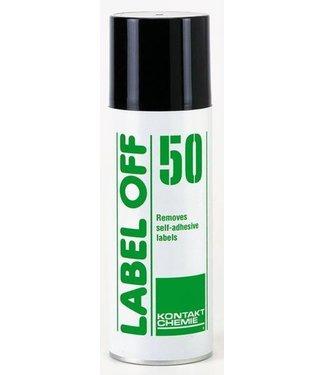 Kontakt Chemie KC Label Off 50 universele sticker verwijderraar 200 ml