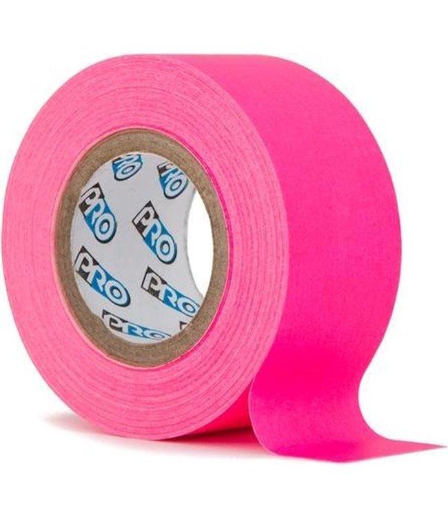 Pro fluor tape mini rol 24mm x 9.2m Neon Roze