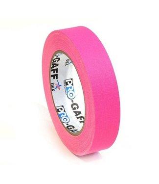 Pro Tapes Pro-Gaff neon gaffa tape 24mm x 22,8m Roze