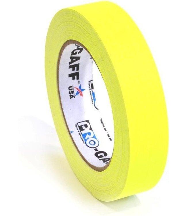 Pro-Gaff Neon Gaffa Tape 24mm x 22,8m Gelb