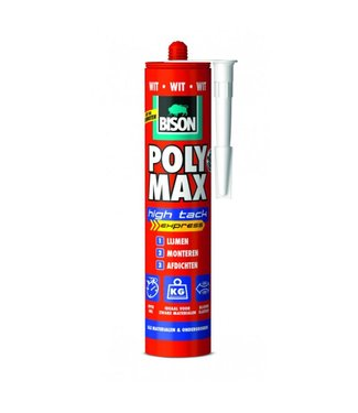 Bison Bison Polymax High Tack Express 425g Wit