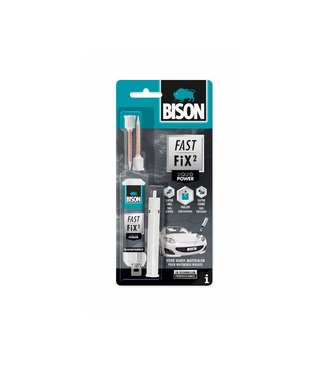 Bison Bison Fast Fix² Tweecomponentenlijm Liquid Power 10g