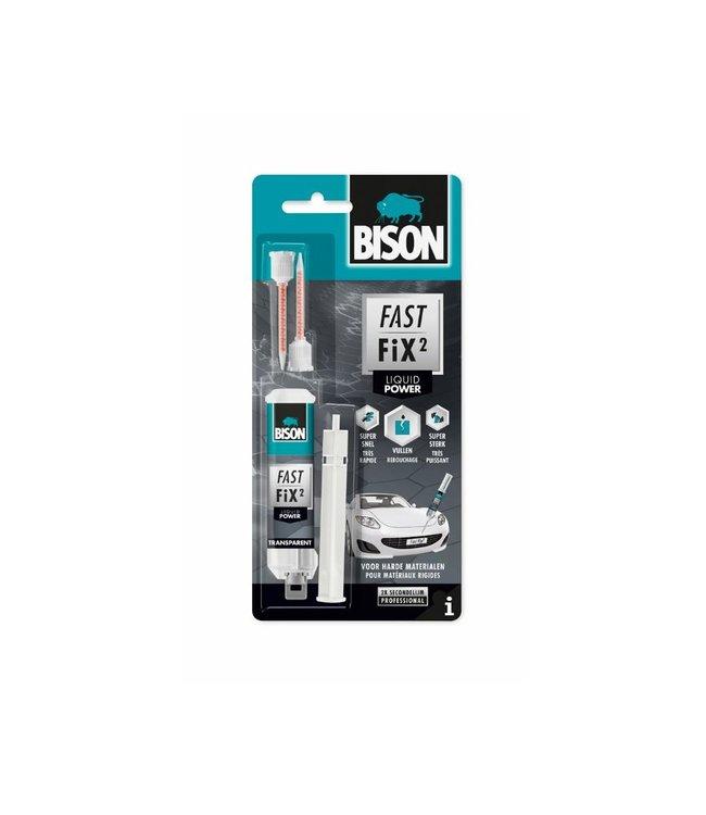 Bison Fast Fix² Tweecomponentenlijm Liquid Power 10g
