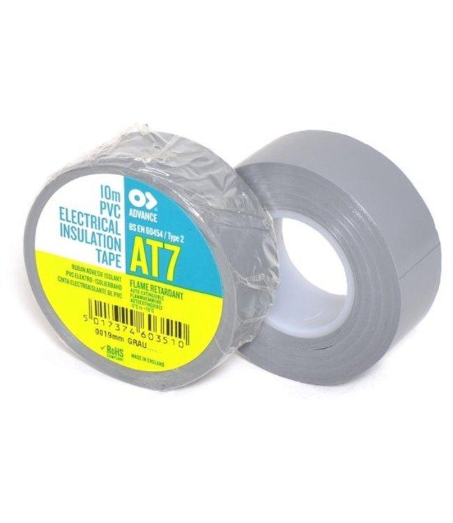 Advance AT7 PVC tape 19mm x 10m Grijs