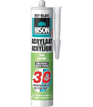 Bison Bison Acryl Schnell 30min 300ml Weiß