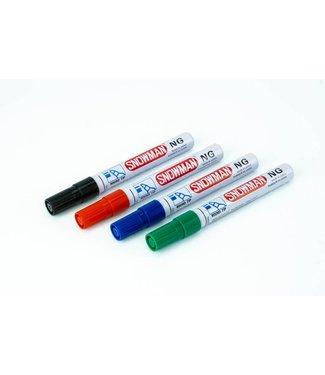 Snowman Schneemann-NG Permanent Marker Farbe mischen 1-3mm