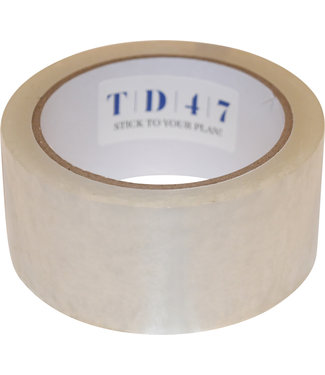 TD47 Products TD47 Verpakkingstape Noise 50mm x 66m Transparant