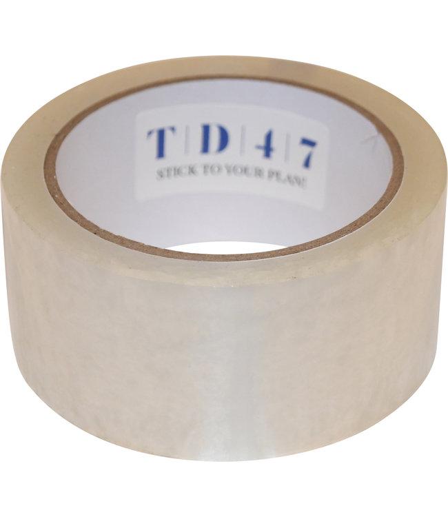 TD47 Lärm Verpackung Band 50mm x 66m Transparent