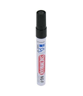 Snowman Schneemann NG 01F Permanent Marker 1-3mm Meißeispitze Schwarz