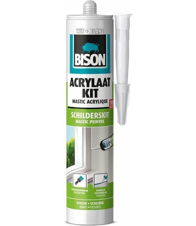 Bison Acryl 300ml Weiß