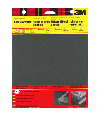 3M 3M Sandblaster Schuurpapier Assorti Wetordry™