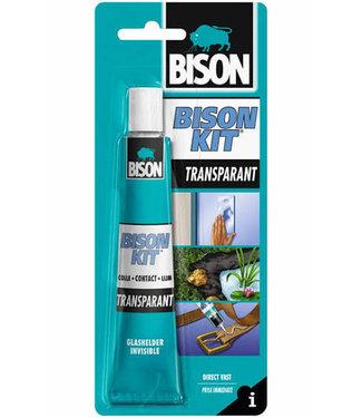 Bison Kit de bison Contact Colle Transparent 50ml