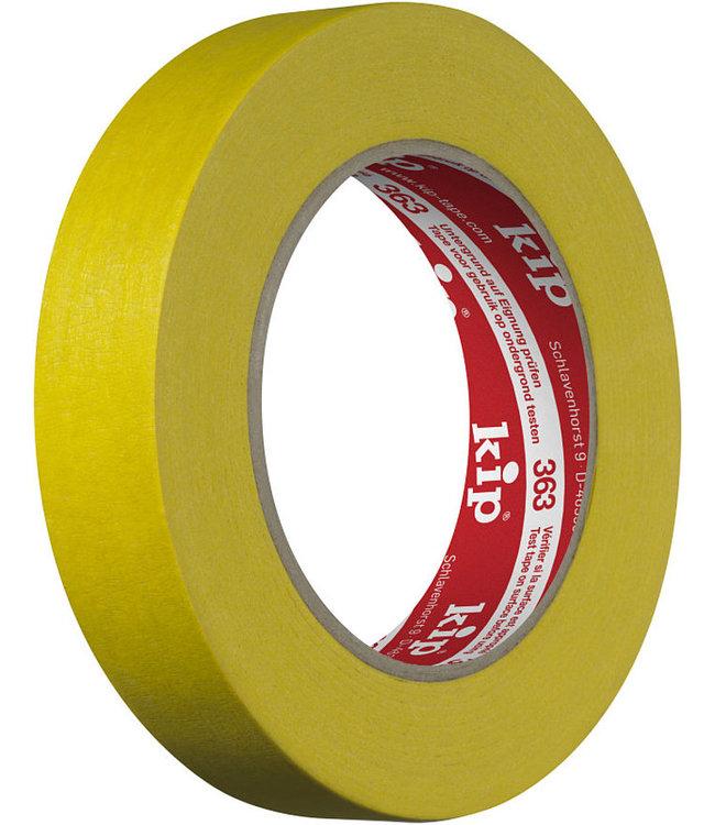 KIP 363 Cleaning Tape 24mm x 50m Gelb