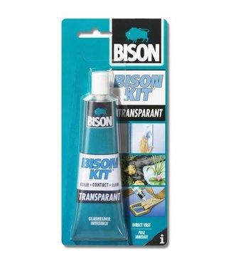 Bison Kit de bison Contact Colle Transparent 100ml