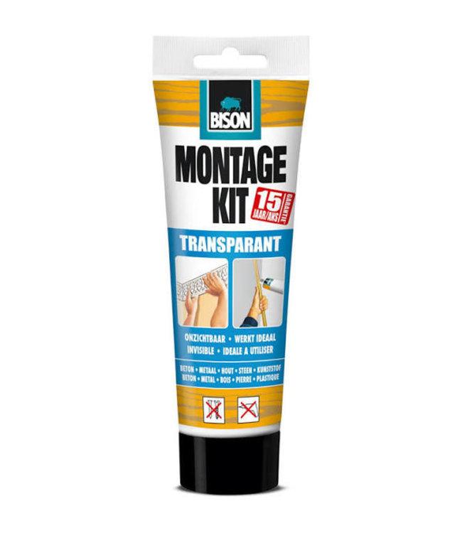 Bison Montage Kit Transparant 250g