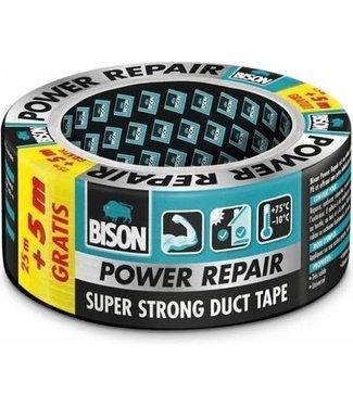 Bison Bison Power-Reparaturband 48mm x 25m Grau (+ 5m Free)