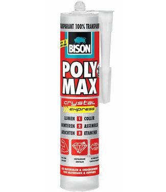 Bison Bison Polymax Crystal Express Transparant 300g