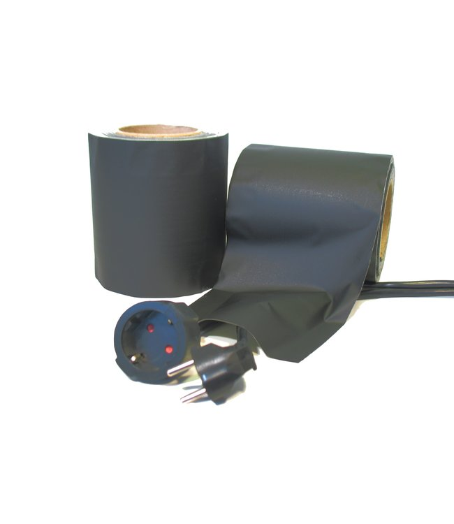 TD47 Cable Cover Tape 145mm x 30m Mat Zwart