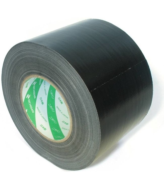 Nichiban Gaffa Tape 100mm x 50m Zwart
