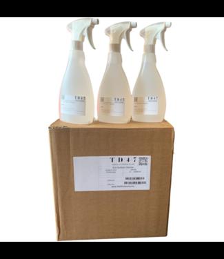 TD47 Products TD47 Eco Oberflächenreiniger 500ml (12 Stück)