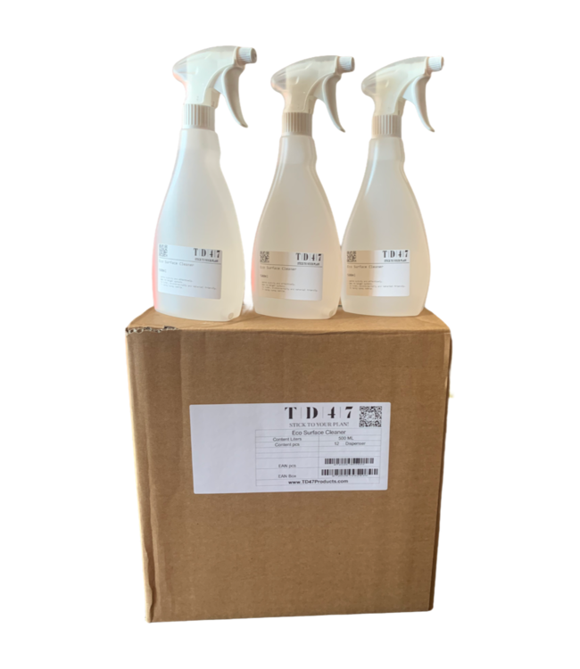 TD47 Products TD47 Eco Surface Cleaner 500ml (12 stuks)