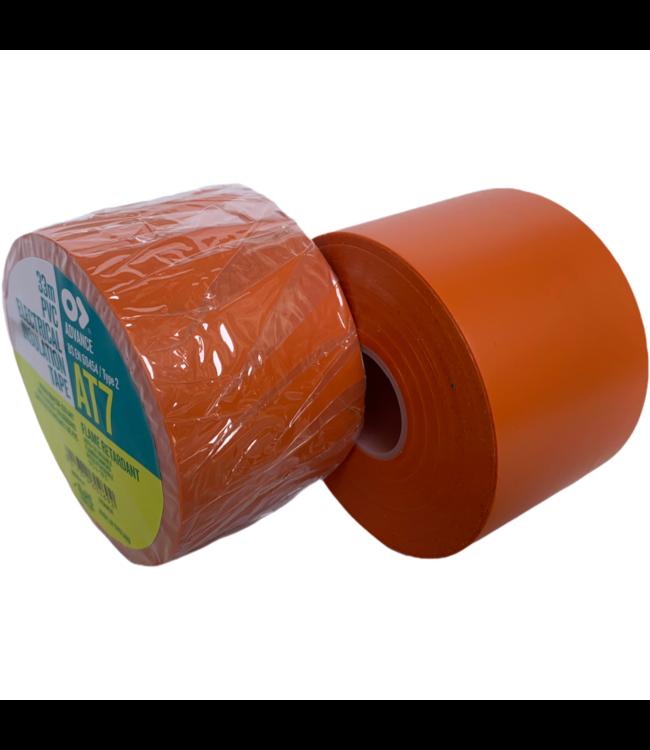 Advance-AT7 PVC Band 50mm x 33m Orange