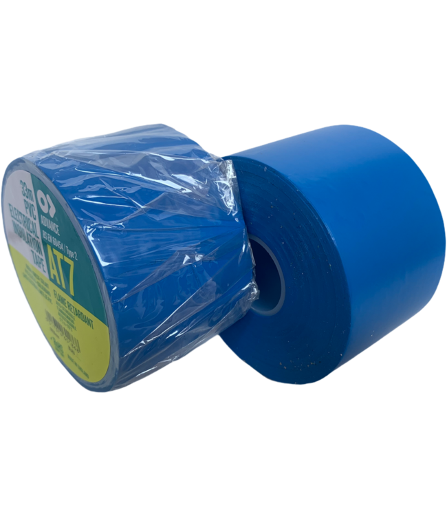 Advance-AT7 PVC Band 50mm x 33m Blau