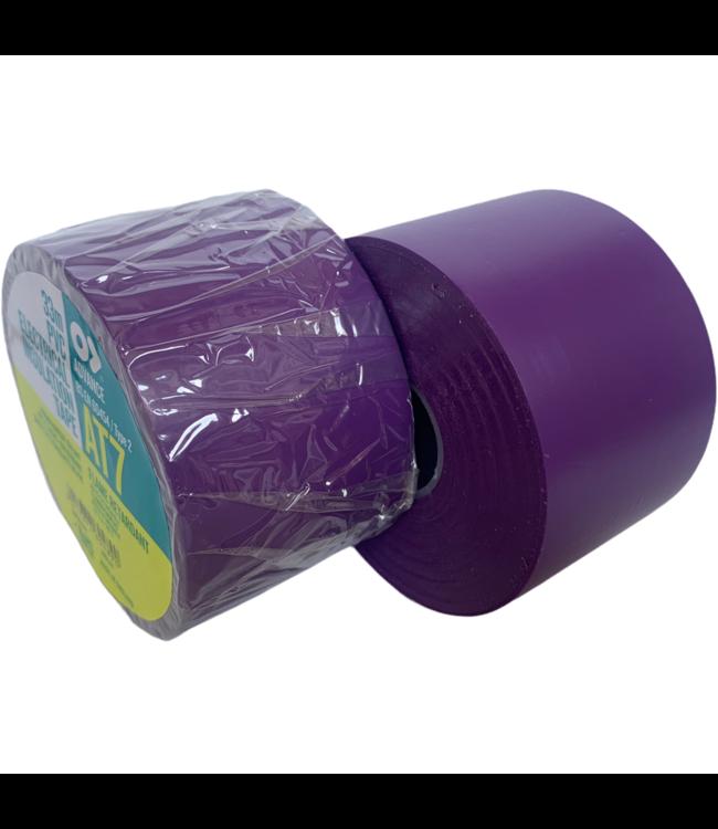 Advance AT7 PVC tape 50mm x 33m Paars