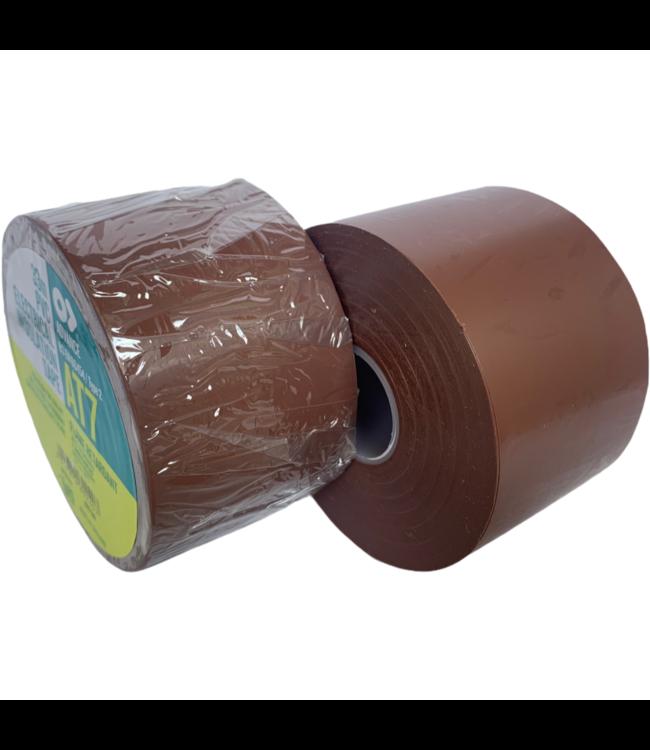 Advance AT7 PVC tape 50mm x 33m Bruin