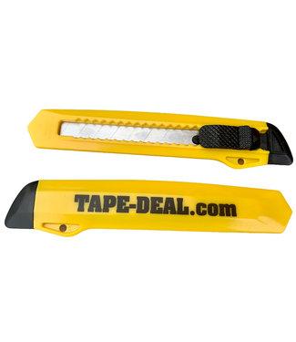 Tape-Deal.com Tape-Deal Afbreekmes Geel