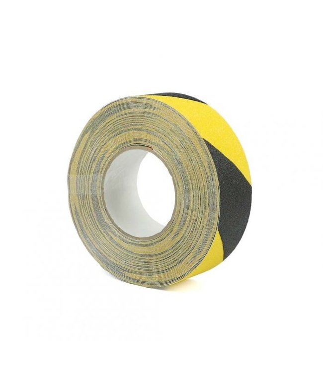 TD47 Antislip tape 50mm x 18,3m Zwart/Geel