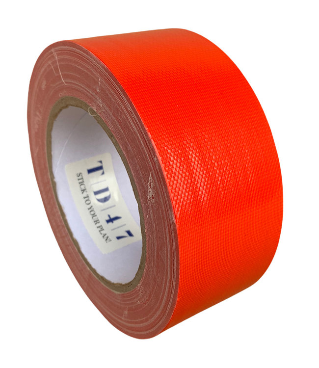 TD47 Gaffa Tape 50mm x 25m rot