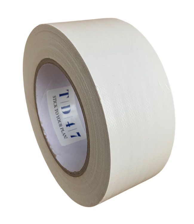 TD47 Products TD47 Gaffa Tape 50mm x 25m Weiß