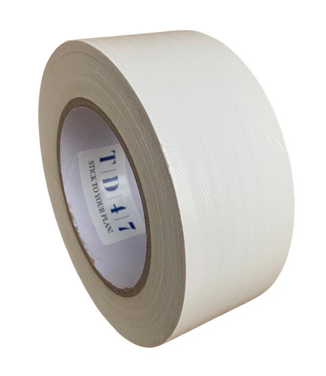 TD47 Gaffa Tape 50mm x 25m Weiß - Box 30 Rollen