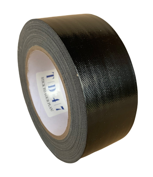 TD47 Gaffa Tape 50mm x 25m Schwarz