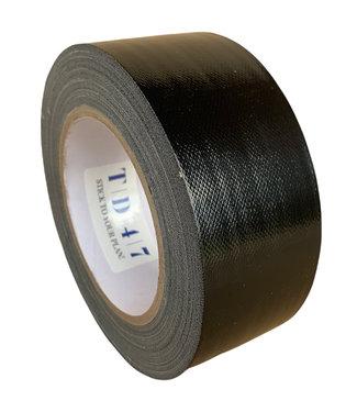 TD47 Products TD47 Gaffa Tape 50mm x 25m Schwarz - Box 30 Rollen