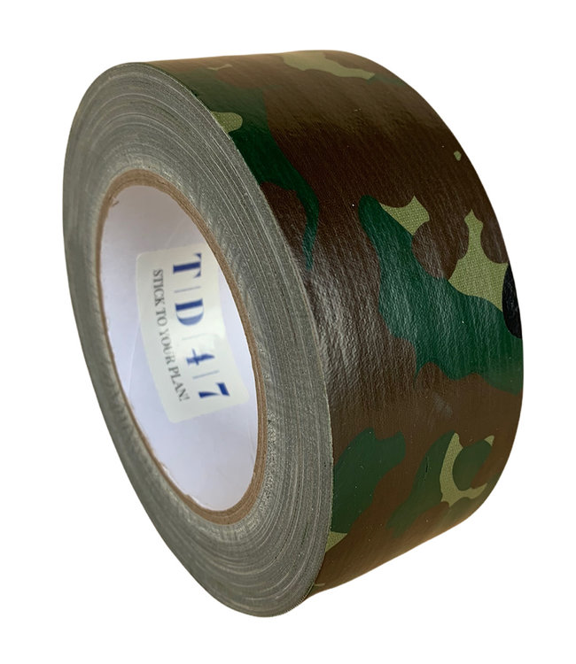 TD47 Gaffa Tape 50mm x 25m Camouflage