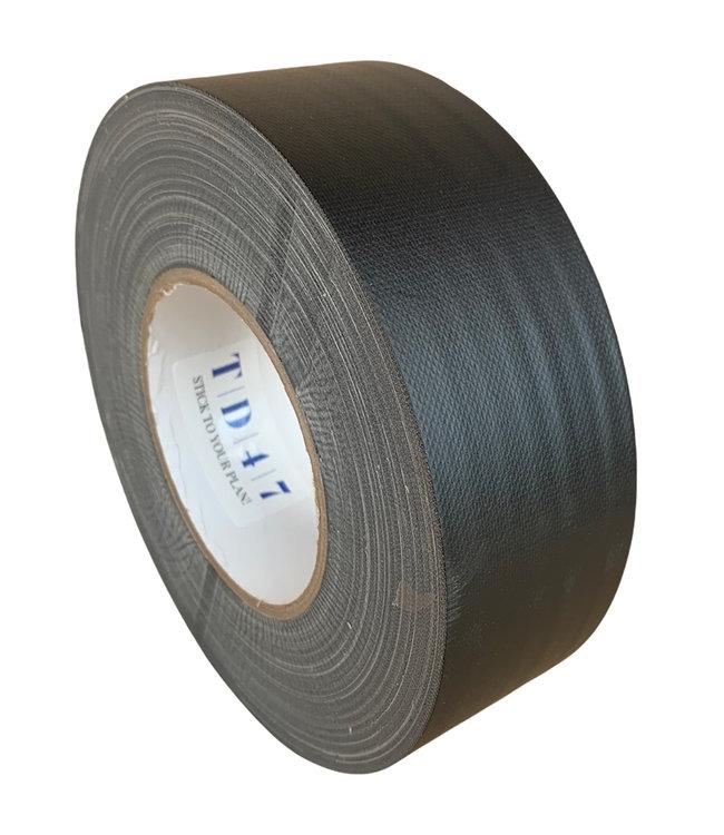TD47 Gaffa Tape 50mm x 50m Mattschwarz