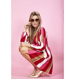 M Missoni Kleed M Missoni rood/roze/goud