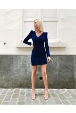 Cavalli Class Kleed Cavalli Class fluweel blauw