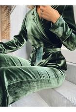 >Natan Wikkelvest Natan fluweel groen