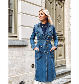 Trench E. Franchi jeans