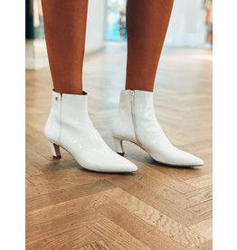 Kitten boots Svnty wit laqué