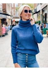Emporio Armani Rolkraagpull Emporio Armani jeansblauw