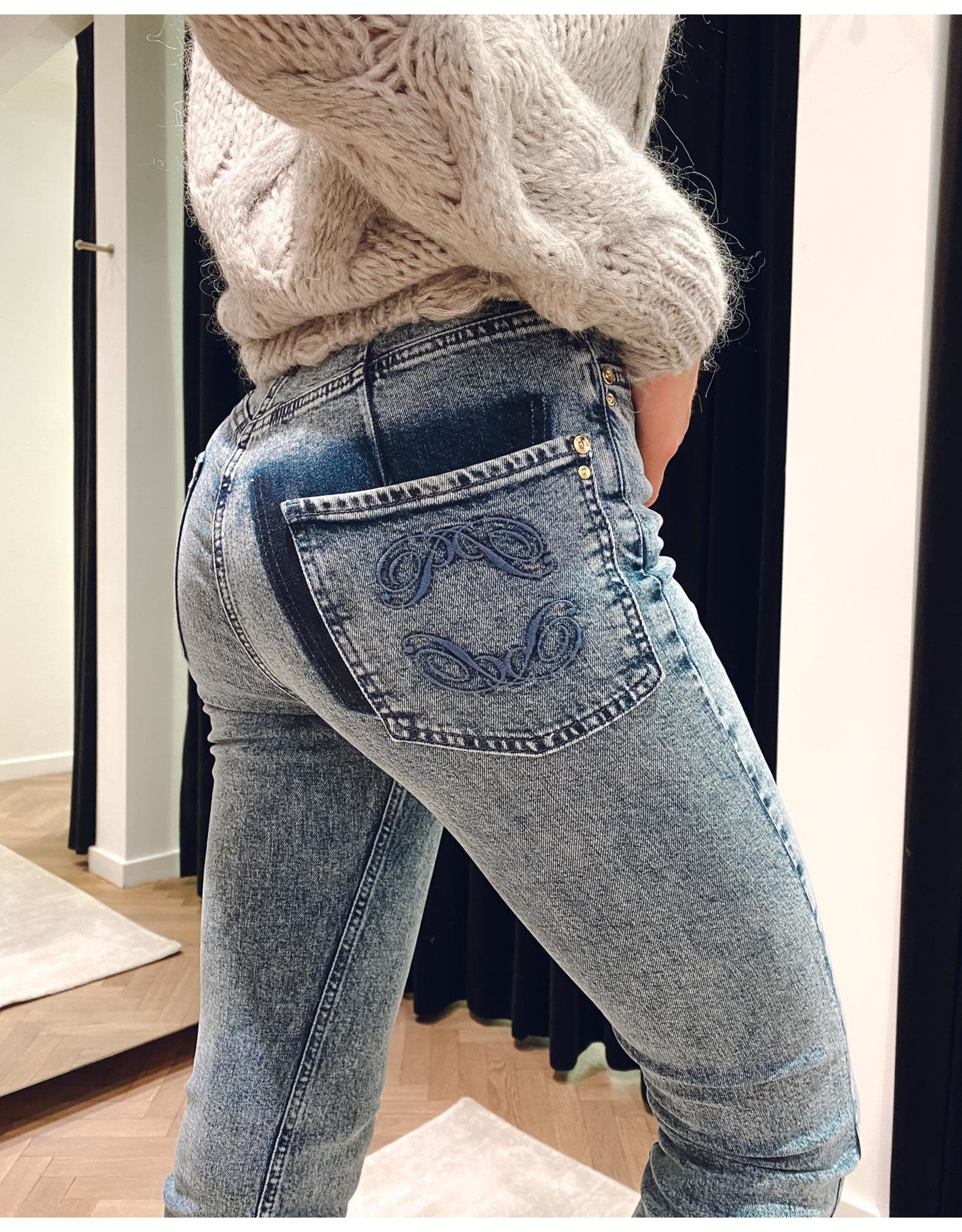 Jeans Patrizia Pepe bleached