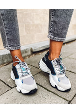 Emporio Armani Sneakers Emporio Armani wit/zwart/grijs