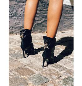 Midi-boots Patrizia Pepe zwart